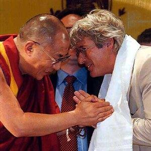 Richard Gere trifft den Dalai Lama